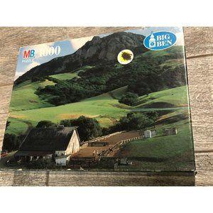 New Big Ben 1000 pc Jigsaw Puzzle Ranch California
